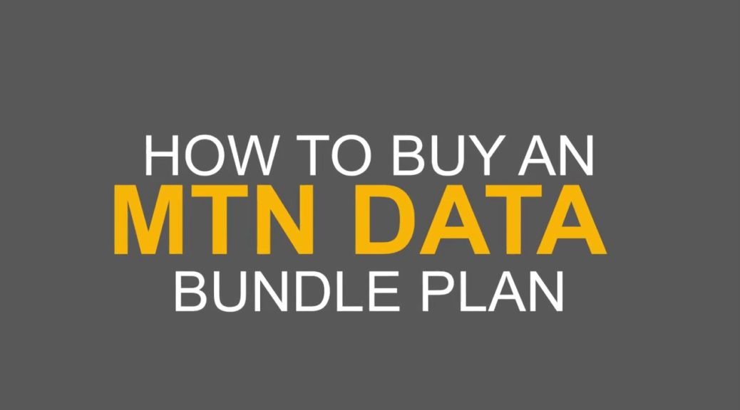 how to buy mtn data